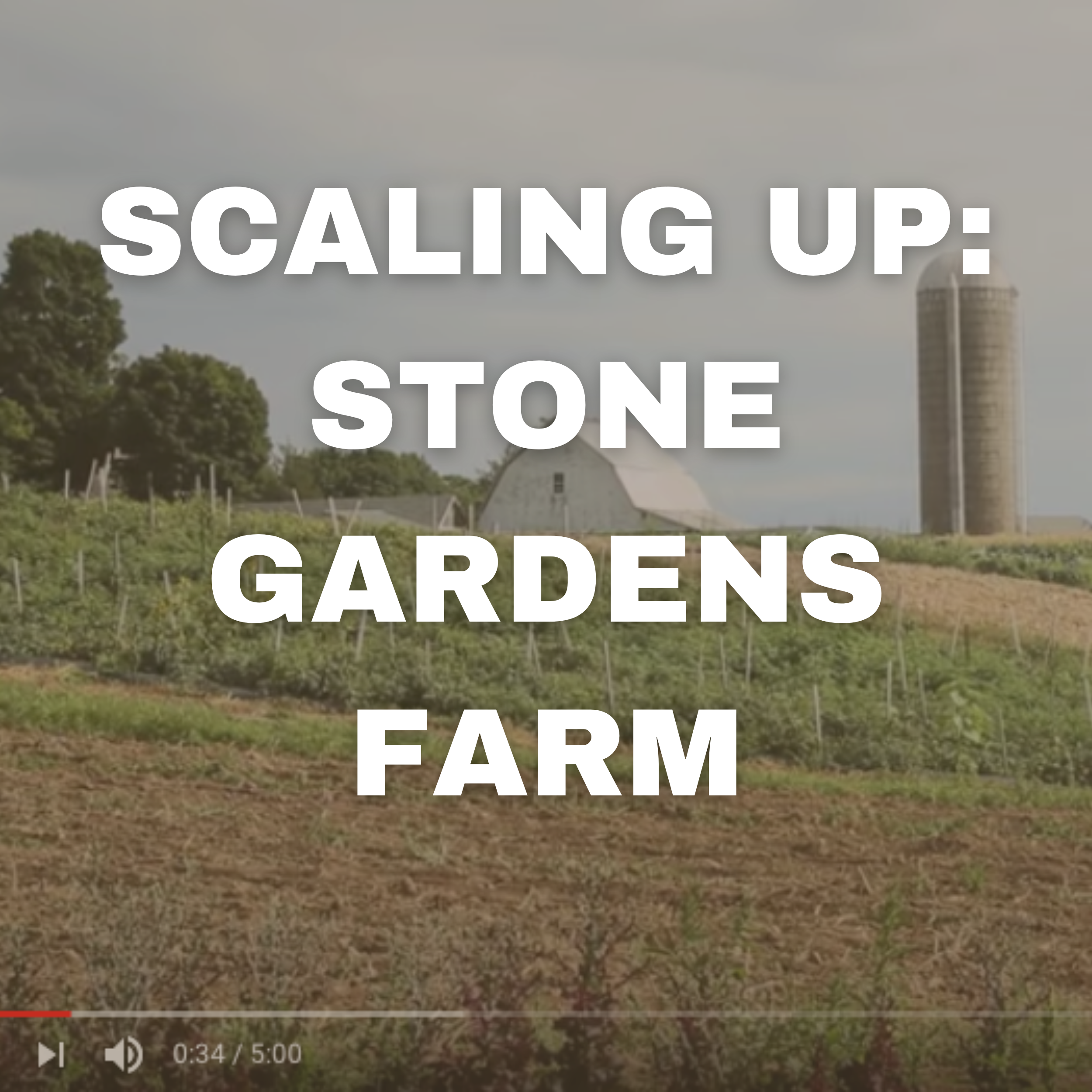 SCALING UP: STONE GARDENS FARM
