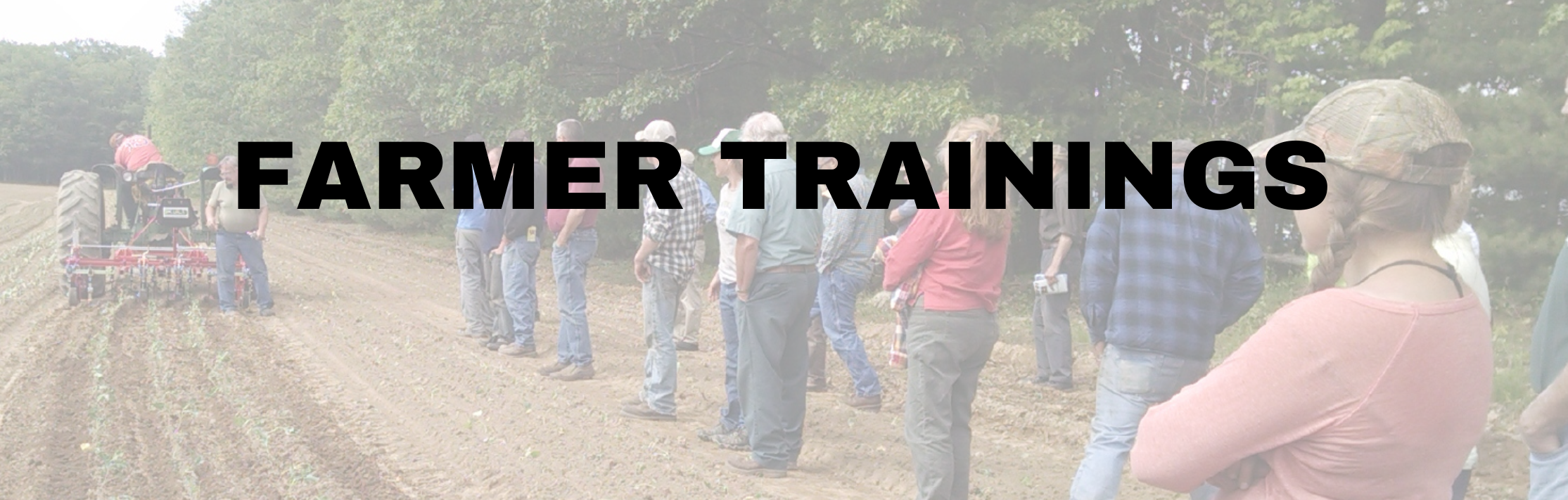 Farmer Trainings